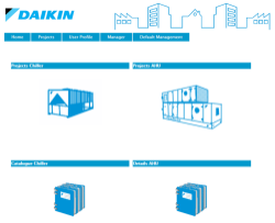 Daikin | Webbased Chiller selection